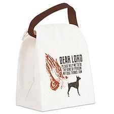 Doberman-Pinscher19 Canvas Lunch Bag