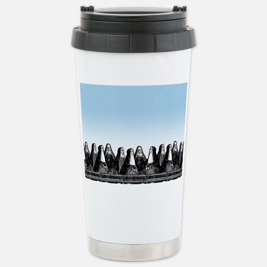 nun-train_sb Stainless Steel Travel Mug