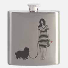 English-Toy-Spaniel11 Flask