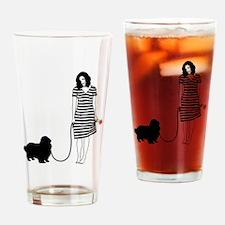 English-Toy-Spaniel11 Drinking Glass
