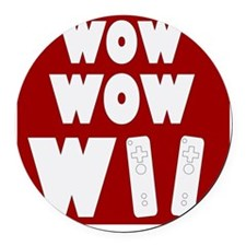 wowii_big Round Car Magnet