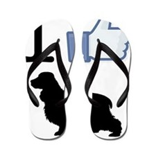English-Cocker-Spaniel26 Flip Flops