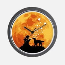 English-Setter22 Wall Clock