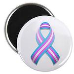 "Trans Pride Ribbon 2.25"" Magnet (100 pack)"