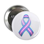 "Trans Pride Ribbon 2.25"" Button (100 pack)"