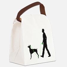 Doberman-Pinscher34 Canvas Lunch Bag