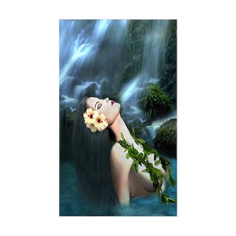 Sacred Falls Rectangle Sticker