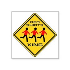 "xingredshirts02 Square Sticker 3"" x 3"""