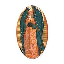 guadalupe_y Oval Car Magnet