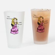 3-princess Drinking Glass