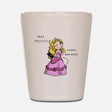3-princess Shot Glass