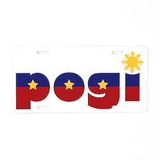 2-pogi Aluminum License Plate