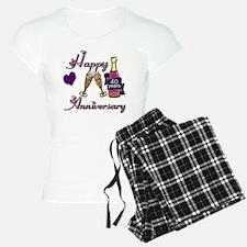 Anniversary pink and purple Pajamas