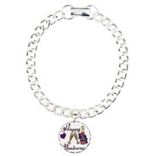 Anniversary pink and pur Bracelet