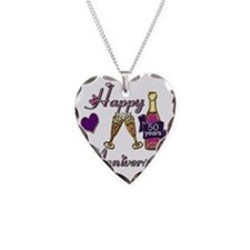 Anniversary pink and purple 5 Necklace