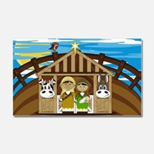 Nativity Poster Car Magnet 20 x 12