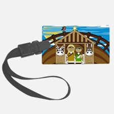 Nativity Poster Luggage Tag