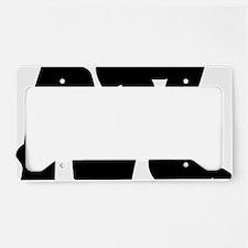 ATL Brushed W License Plate Holder