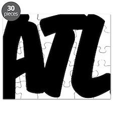 ATL Brushed W Puzzle