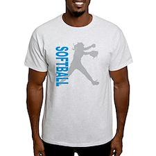 play softball(blk) T-Shirt