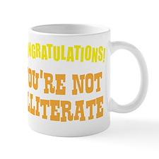illiterate2 Mug