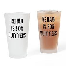 rehab Drinking Glass