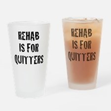 rehab Drinking Glass