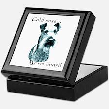 Irish Terrier Warm Heart Keepsake Box