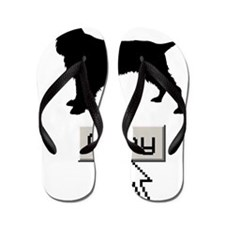 Field-Spaniel15 Flip Flops
