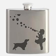 Field-Spaniel28 Flask