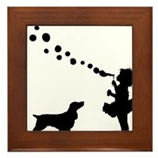 Field-Spaniel28 Framed Tile