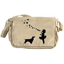 Field-Spaniel28 Messenger Bag