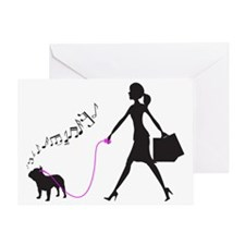 French-Bulldog32 Greeting Card