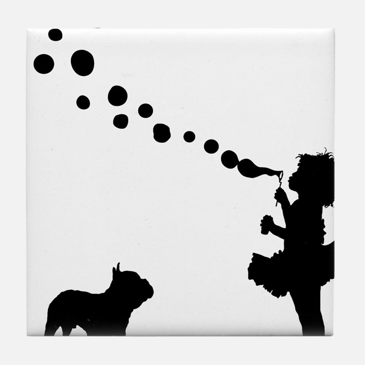 French-Bulldog28 Tile Coaster