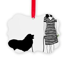 Great-Pyrenees11 Ornament