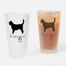 Grand-Basset-Griffon-Vendeen13 Drinking Glass