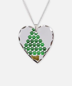 paws_christmas Necklace