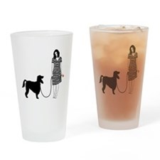 Irish-Setter11 Drinking Glass