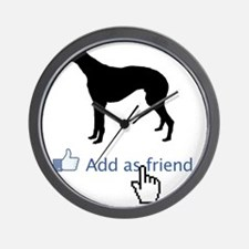 Greyhound13 Wall Clock