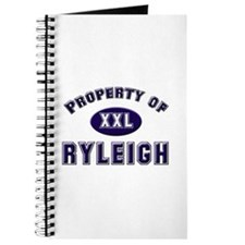 Property of ryleigh Journal