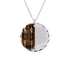 Isaiah 50-6-7 Necklace
