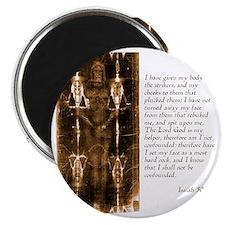 Isaiah 50-6-7 Magnet