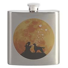 Gordon-Setter22 Flask