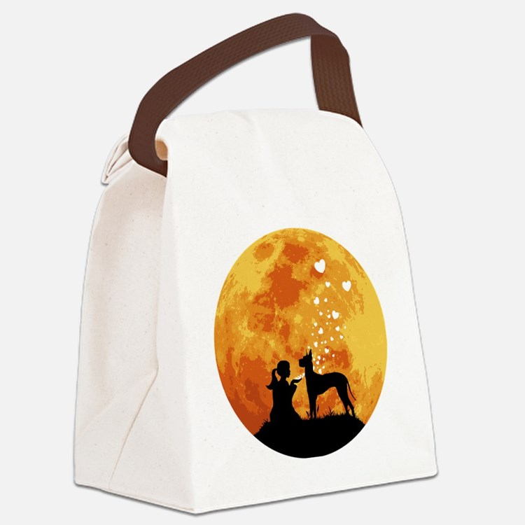 Great-Dane22 Canvas Lunch Bag