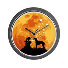 Greyhound22 Wall Clock