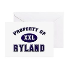 Property of ryland Greeting Cards (Pk of 10)