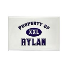 Property of rylan Rectangle Magnet