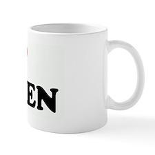 I Love LAUREN Mug