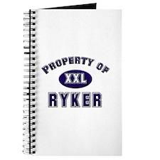 Property of ryker Journal