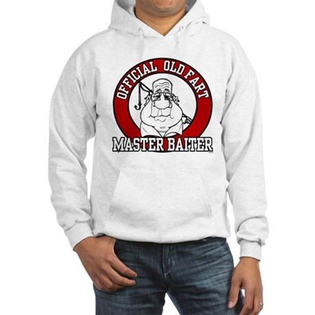 Official Old Fart - Master Baiter Hooded Sweatshir
